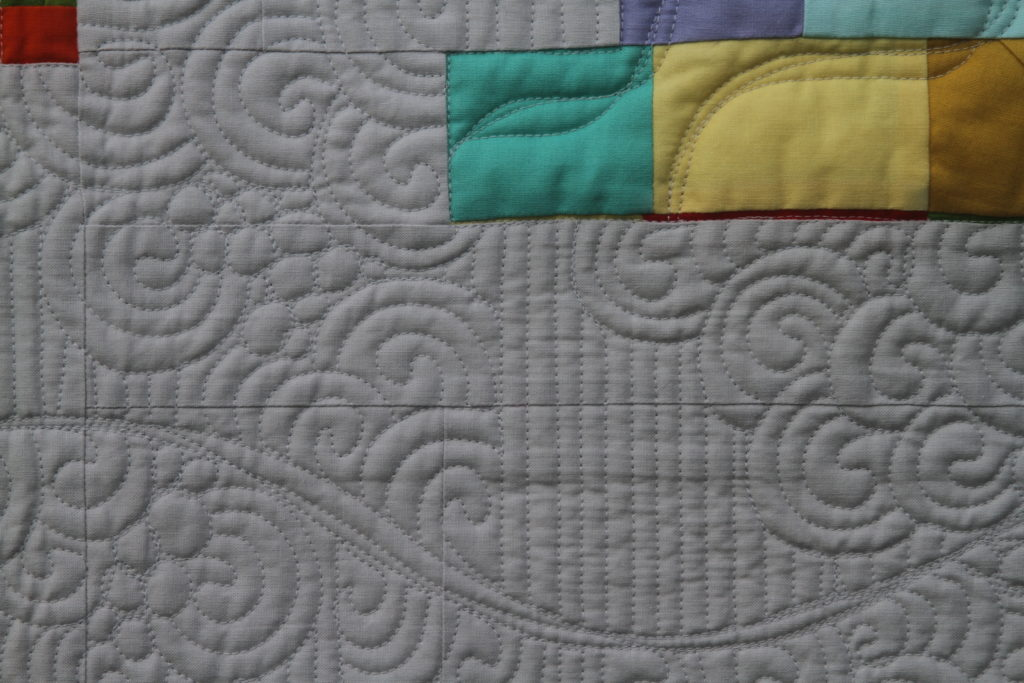 """No Running"" - Quilted for Arita Rai"